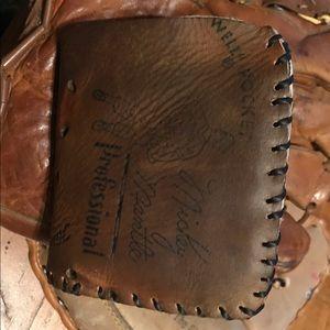 VTG Mickey Mantle Rawlings Baseball Glove Wallet